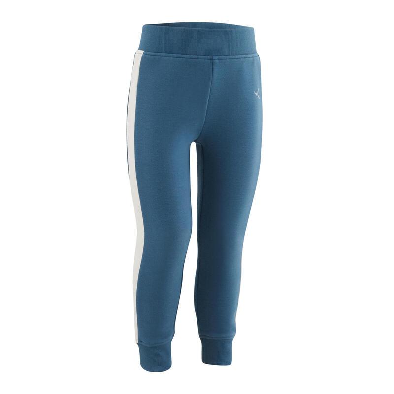 Pantalon slim chaud bleu Baby Gym enfant