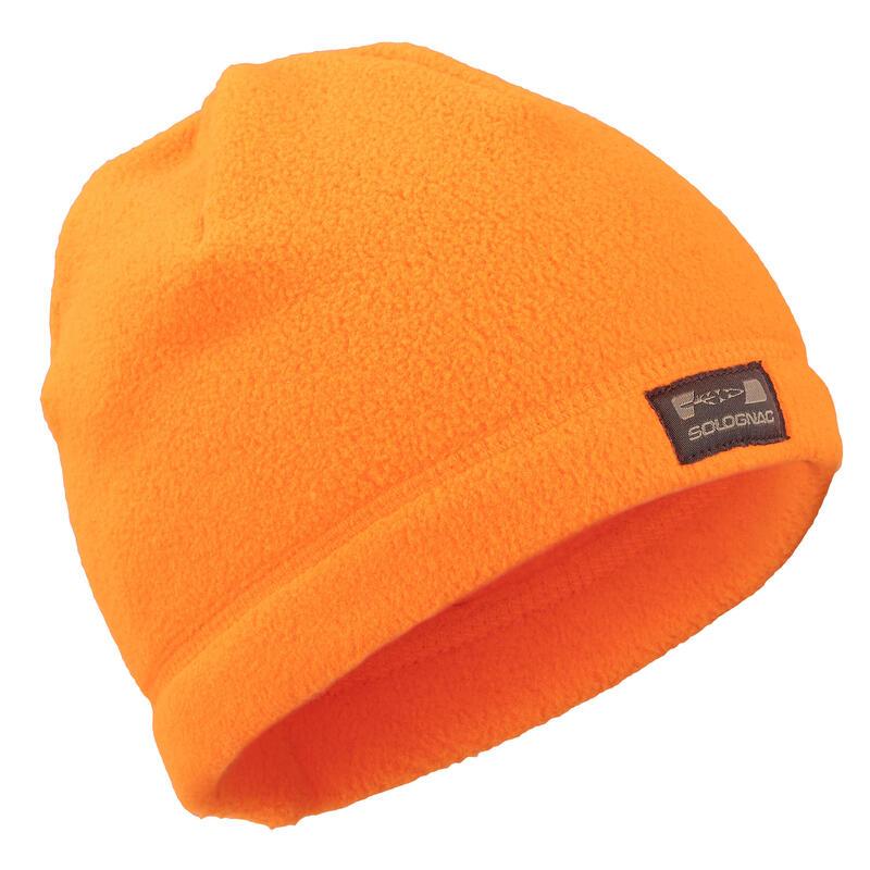 Kid's fleece beanie 100 orange