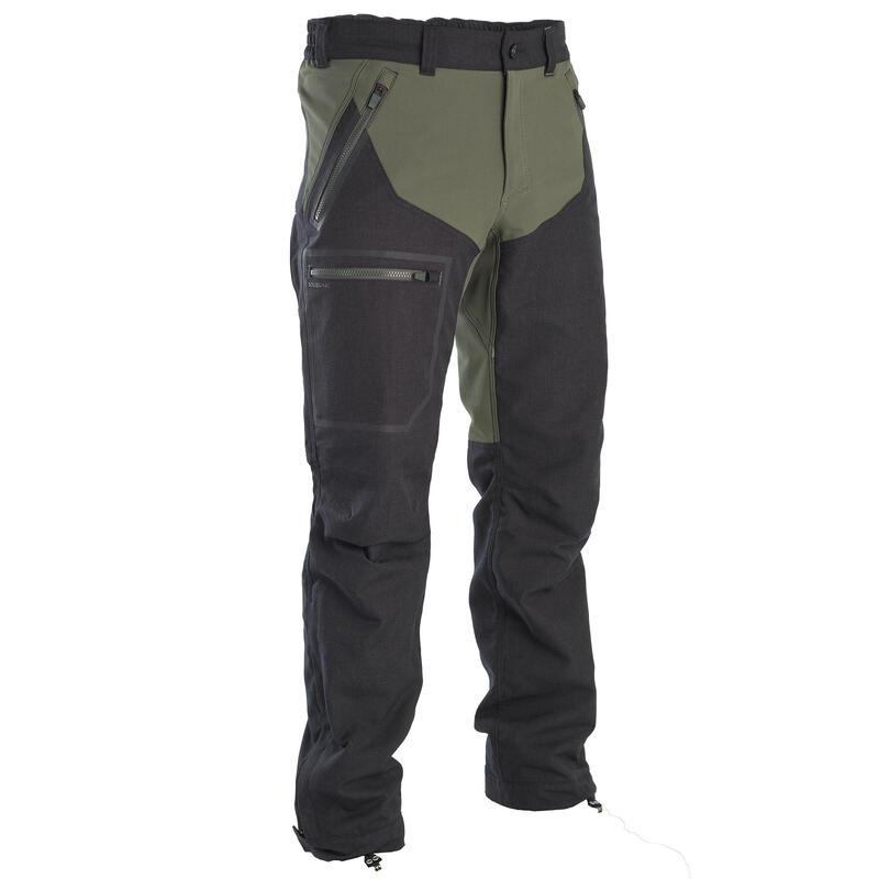 Pantalon Chasse Résistant et Respirant Bois 900