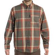 Men's Full Sleeve Shirt 500 Green/Red