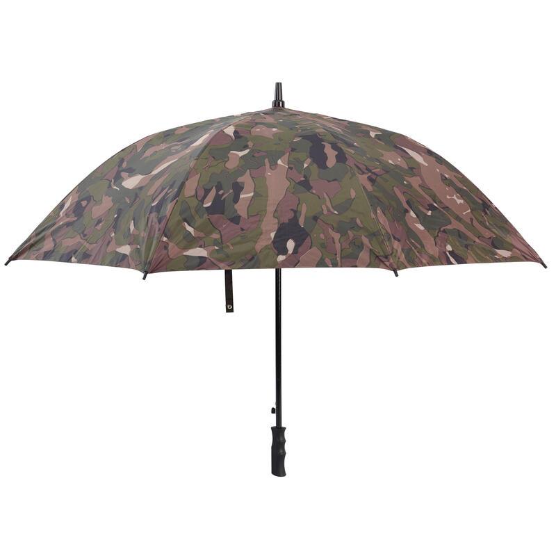Parapluie chasse camouflage Woodland vert et marron