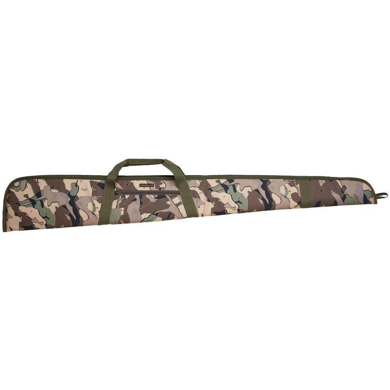 Foedraal voor jachtgeweer 125 cm camouflage WD V1 groen en bruin