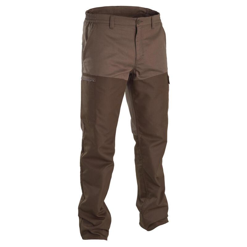 Pantalon Chasse Vert et Marron Renfort SG100