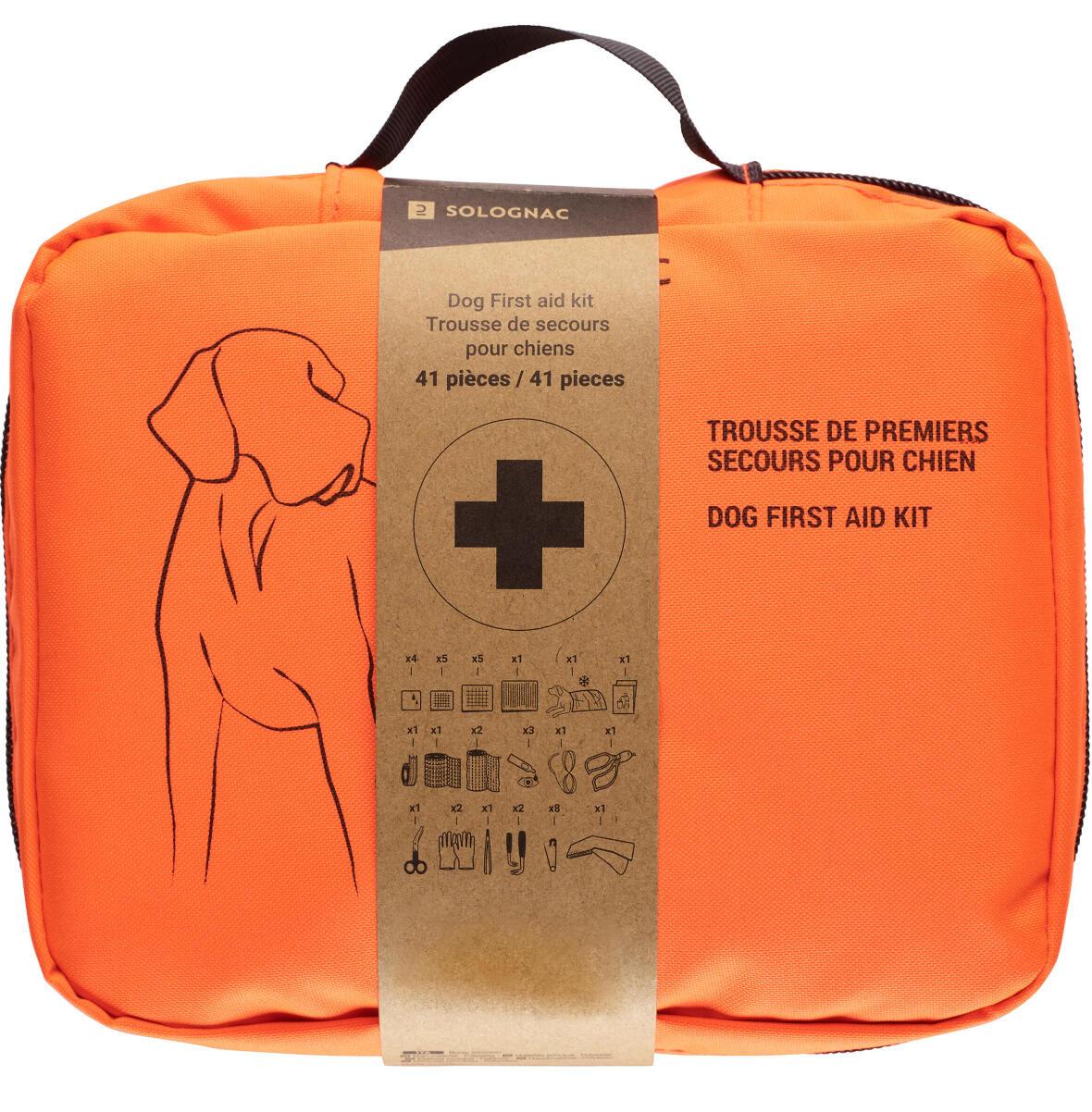 La trousse de secours pour chiens arrive chez SOlognac