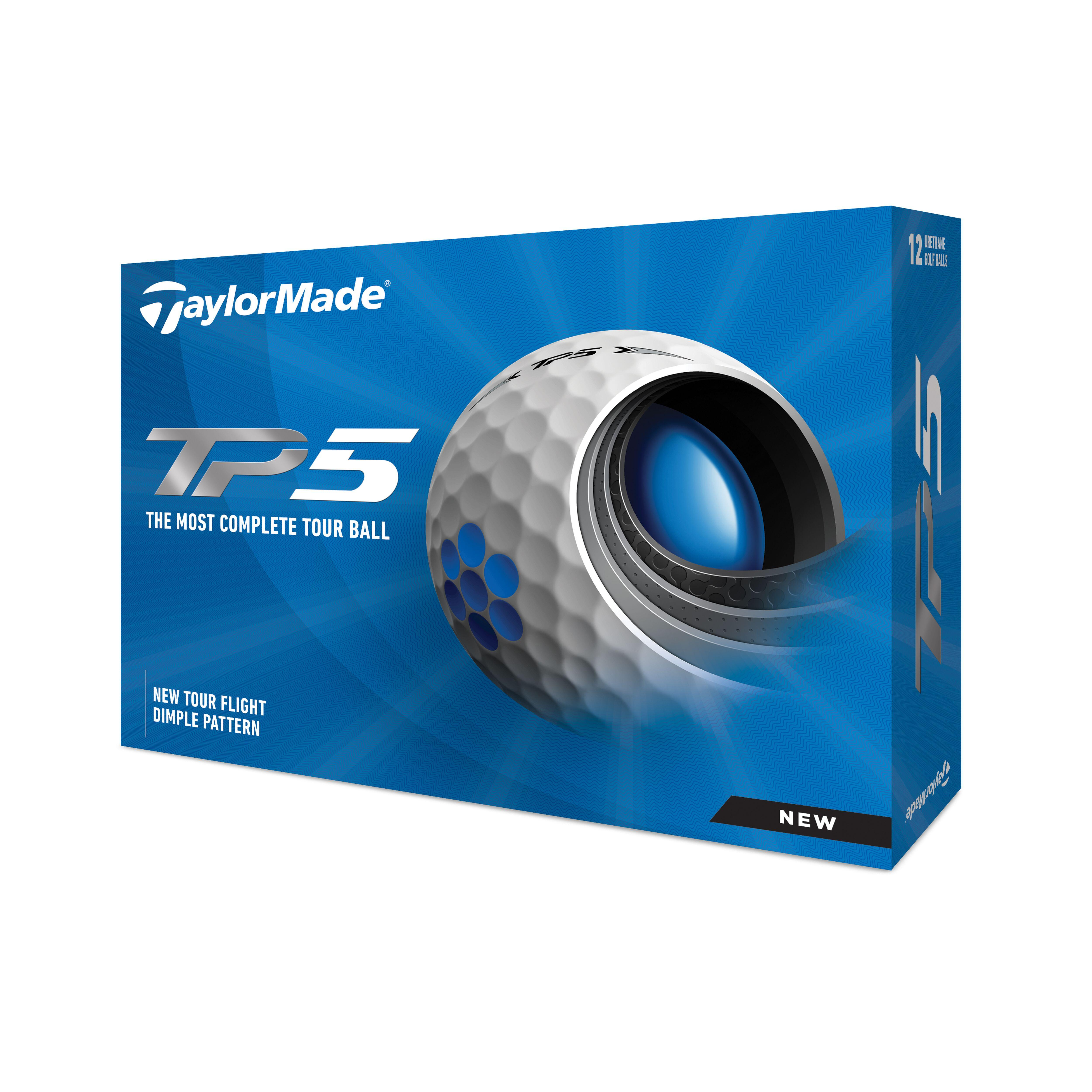 Set 12 Mingi Golf TP5 Alb