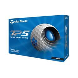 Palline golf TP5 bianche x12