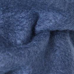 100 Boys' Warm Fleecy Slim-Fit Gym Bottoms - Navy Blue