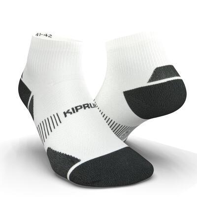 ECO-DESIGN RUN900 MID THICK RUNNING SOCKS - WHITE