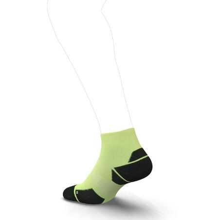 RUN900 MID THICK RUNNING SOCKS - YELLOW