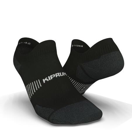 Calcetines Running RUN900 Negro Finos Invisibles Ecodiseño