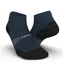 跑步襪RUN900 MID FINE - 藍色