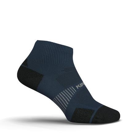 RUN900 MID FINE RUNNING SOCKS - SLATE BLUE