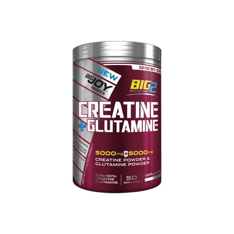 BIGJOY BIG2 CREATINE + GLUTAMINE - AROMASIZ - 500 G