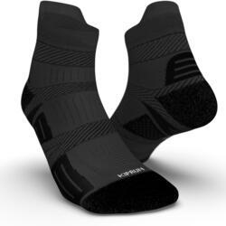 細條紋跑步襪 - 黑色