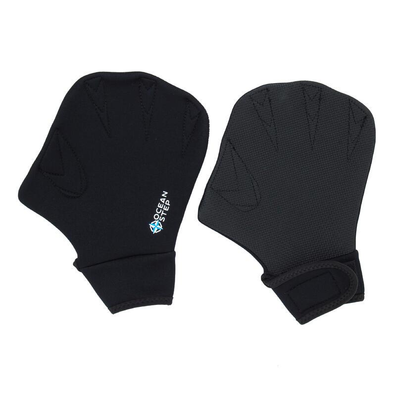 Neopreen handschoenen voor zeewandelen 3 mm zwart