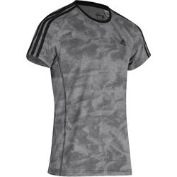 Fitness T-shirt heren grijs