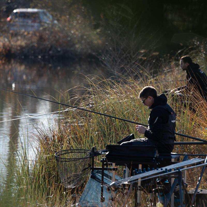 pêche en hiver