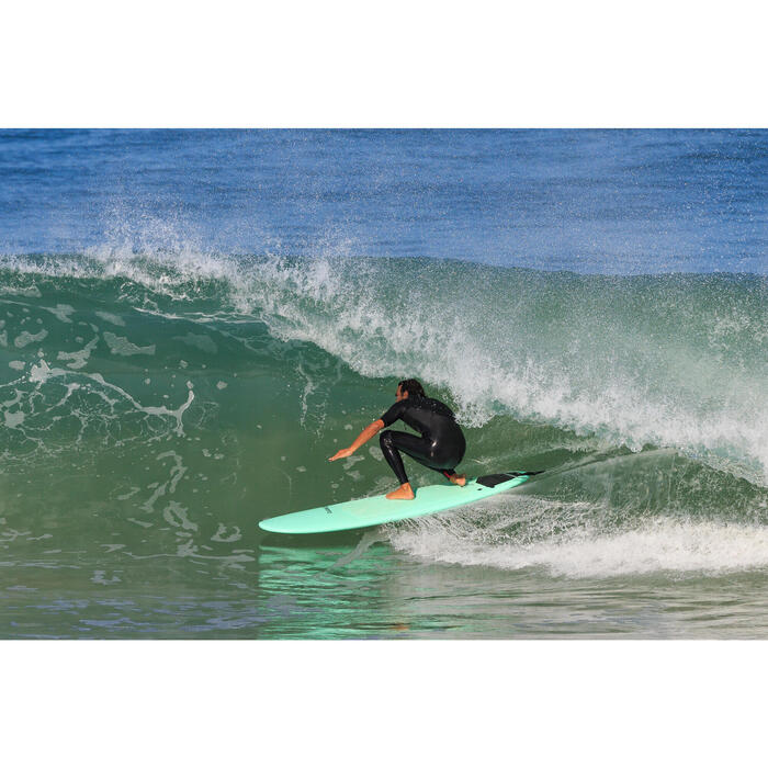 Leash surf 8' (240 cm) diamètre 7 mm noir
