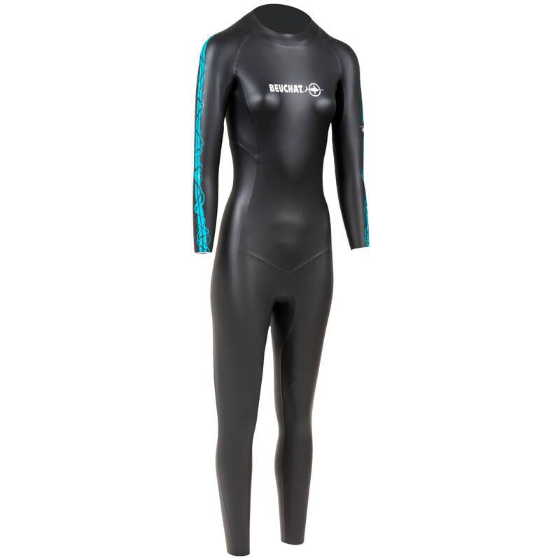 FREE DIVING SUITS Potápění a šnorchlování - DÁMSKÝ NEOPREN ZENTO 2 MM BEUCHAT - Freediving a podmořský rybolov
