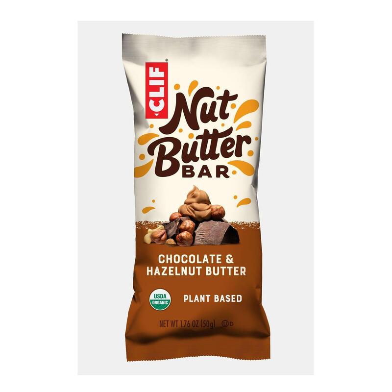Pack de 3 Barres de céréales bio CLIF au chocolat fourré à la noisette