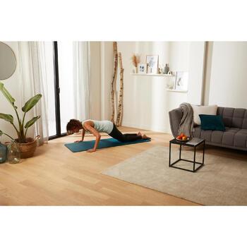 Comfort Pilates Floor Mat Size S 170 cm x 55 cm x 10 mm - Petrol Blue