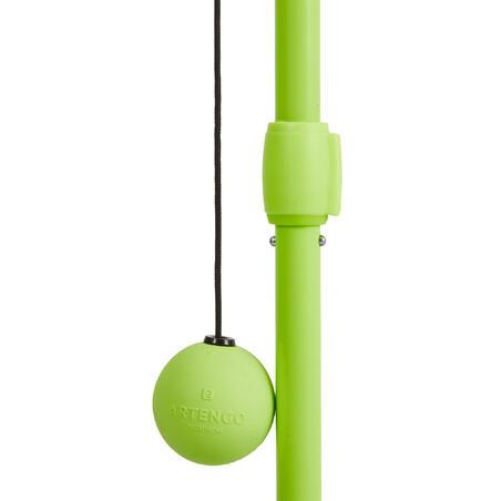Alat Latihan Memukul Bola Tenis Set - Hitam Kuning