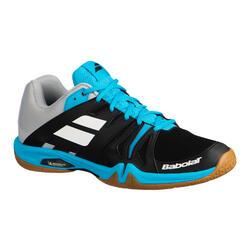Calçado de Badminton / Squash / Desportos Indoor Shadow Team Preto Azul