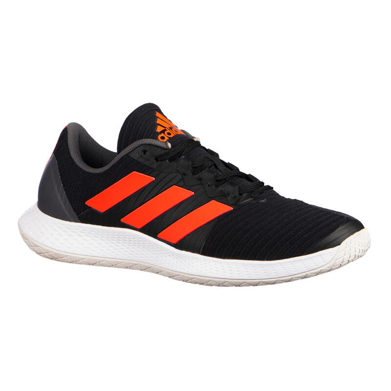Badminton, Squash, Indoor Sports Shoes Force Bounce - Black