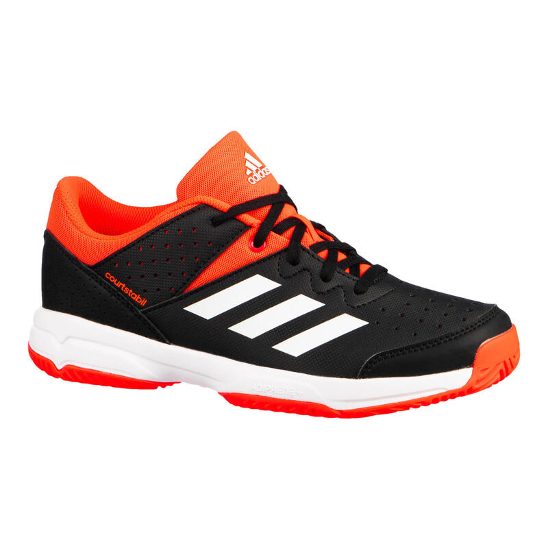 Kids' Badminton and Indoor Sports Shoes Court Stabil - Black