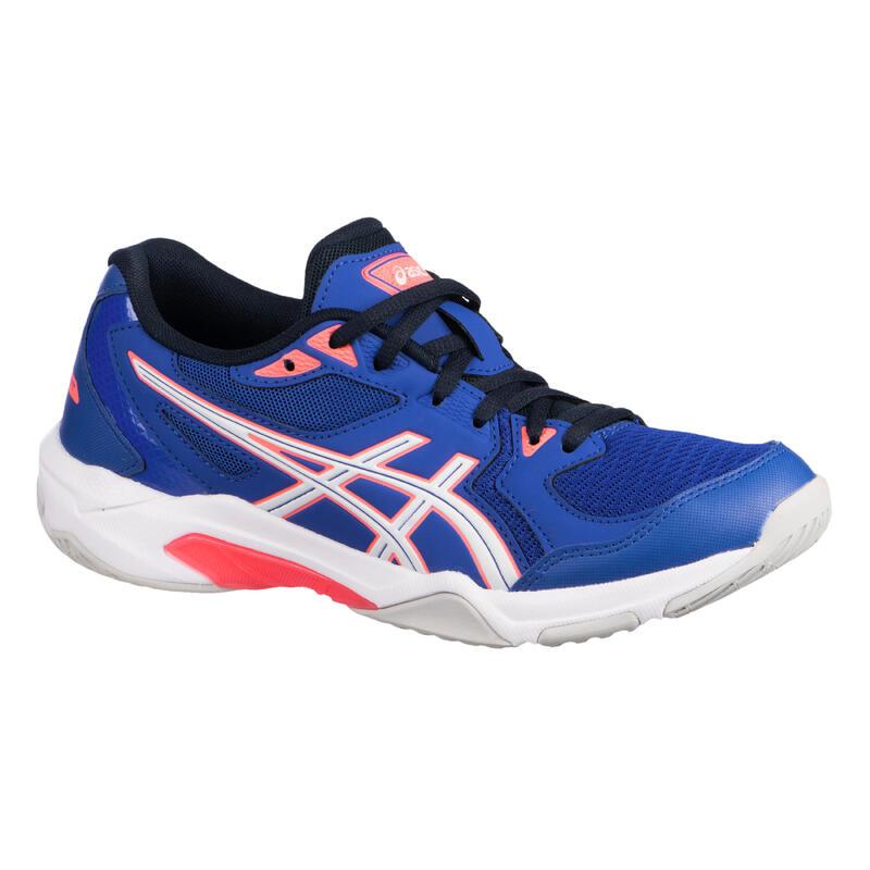 Schoenen voor BADMINTON, SQUASH en indoorsporten GEL-ROCKET 10 LAPIS LAZULI.