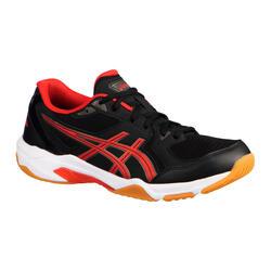 Schoenen voor badminton, squash een zaalsporten Gel-Rocket 10 zwart/rood