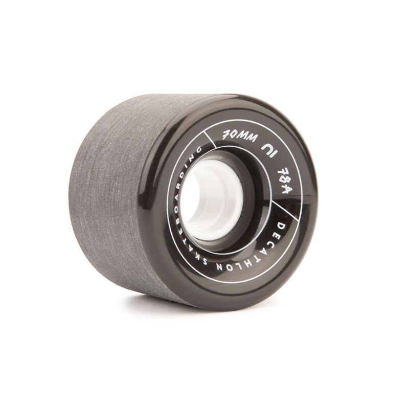 ล้อลองบอร์ด/ครุยเซอร์แบบ 78A ขนาด 70 มม. 4 ล้อ (สีดำ)