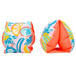 成人款游泳臂圈「水果」圖案(適合60 kg以上) - 粉紅色