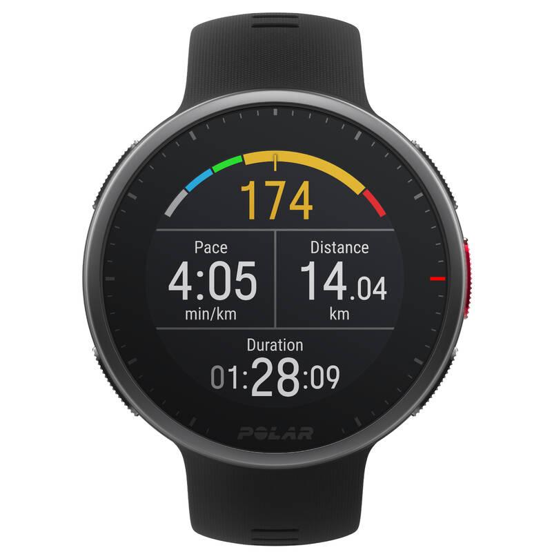 BĚŽECKÉ GPS HODINKY Běh - HODINKY VANTAGE V2 ČERNÉ  POLAR - Běžecká elektronika