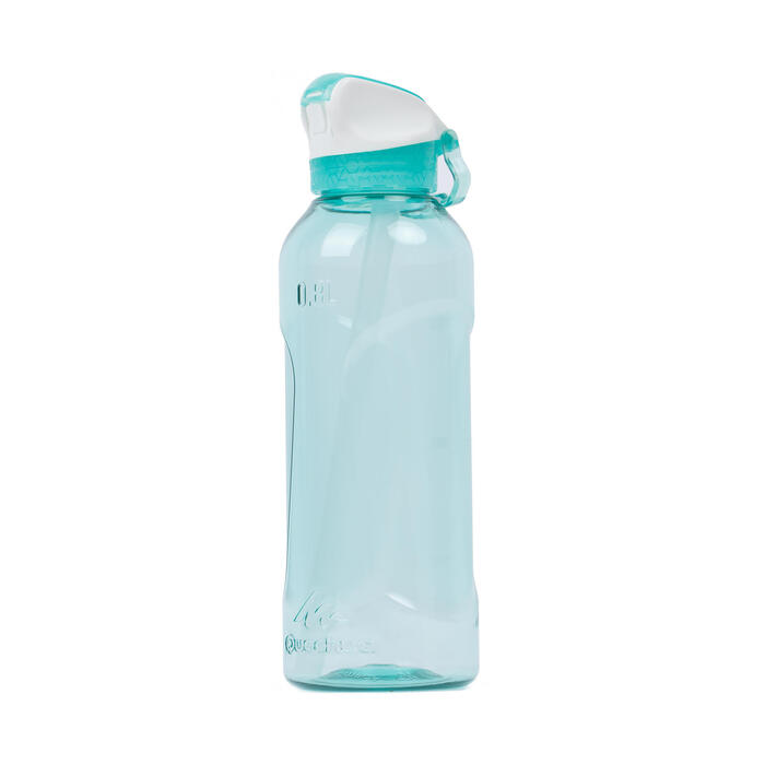 Hiking flask. Instant Stopper with Straw 900 Tritan 0.8 Litre Mint Green