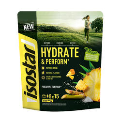 Iso-Getränkepulver Hydrate & Perform Ananas 450g