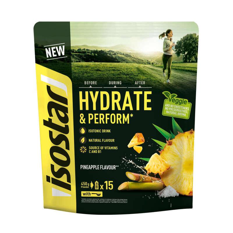FOLYADÉKPÓTLÁS Táplálékkiegészítő, sporttáplálkozás - Izotóniás italpor, 450 g ISOSTAR - Multisport kiegészítők