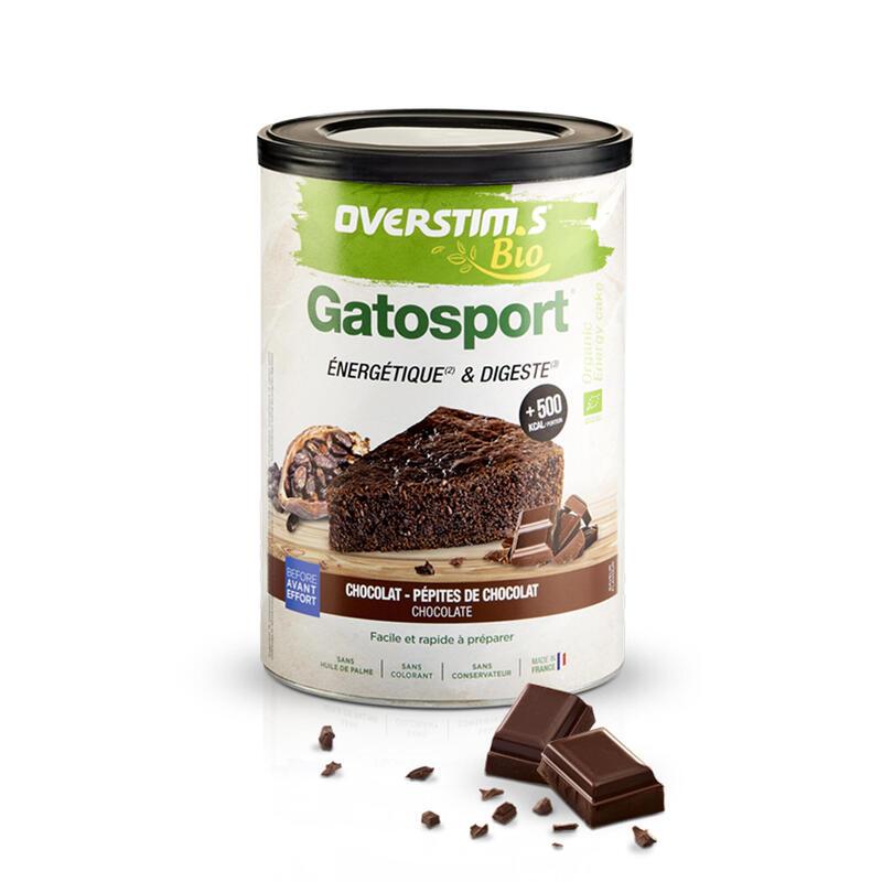 Overstims Gatosport bio chocolat pépites - boîte 400 g