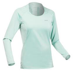 Women's Long-Sleeved Mountain Walking T-Shirt MH550