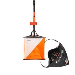 Kit 10 lanterne in tessuto orienteering 15x15cm