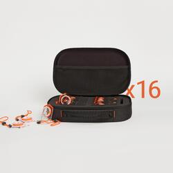 Kit 16 bussole piatte orienteering BEGIN 100
