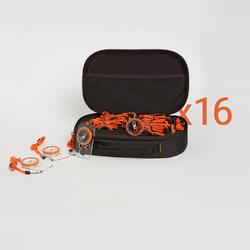 Set met 16 kompassen voor wandelen en oriëntatielopen EXPLORER 500