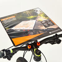 New version of mountain bike orienteering and adventure race map holder