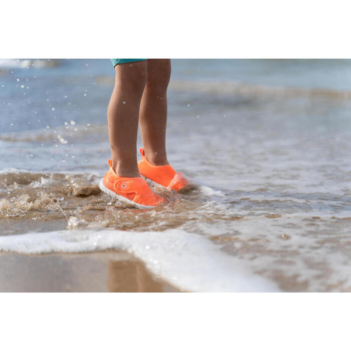 Baby's shoes for water Aquashoes 100 - coral