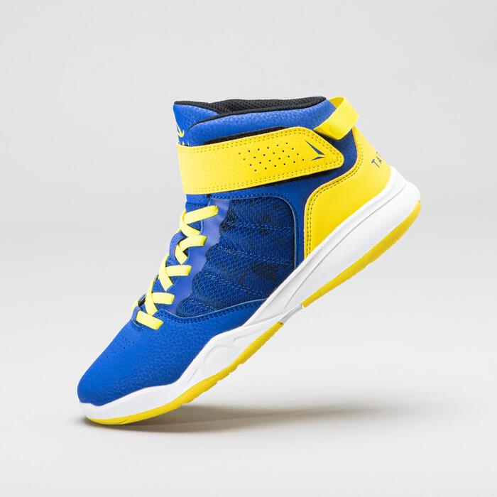 Boys'/Girls' Beginner Basketball Shoes Easy - Blue/Pink