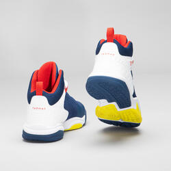 Boys'/Girls' Intermediate Basketball Shoes SS500H - Pink/Blue
