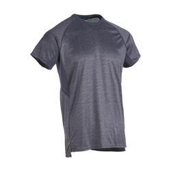 機能健身T恤100 - 素面灰色