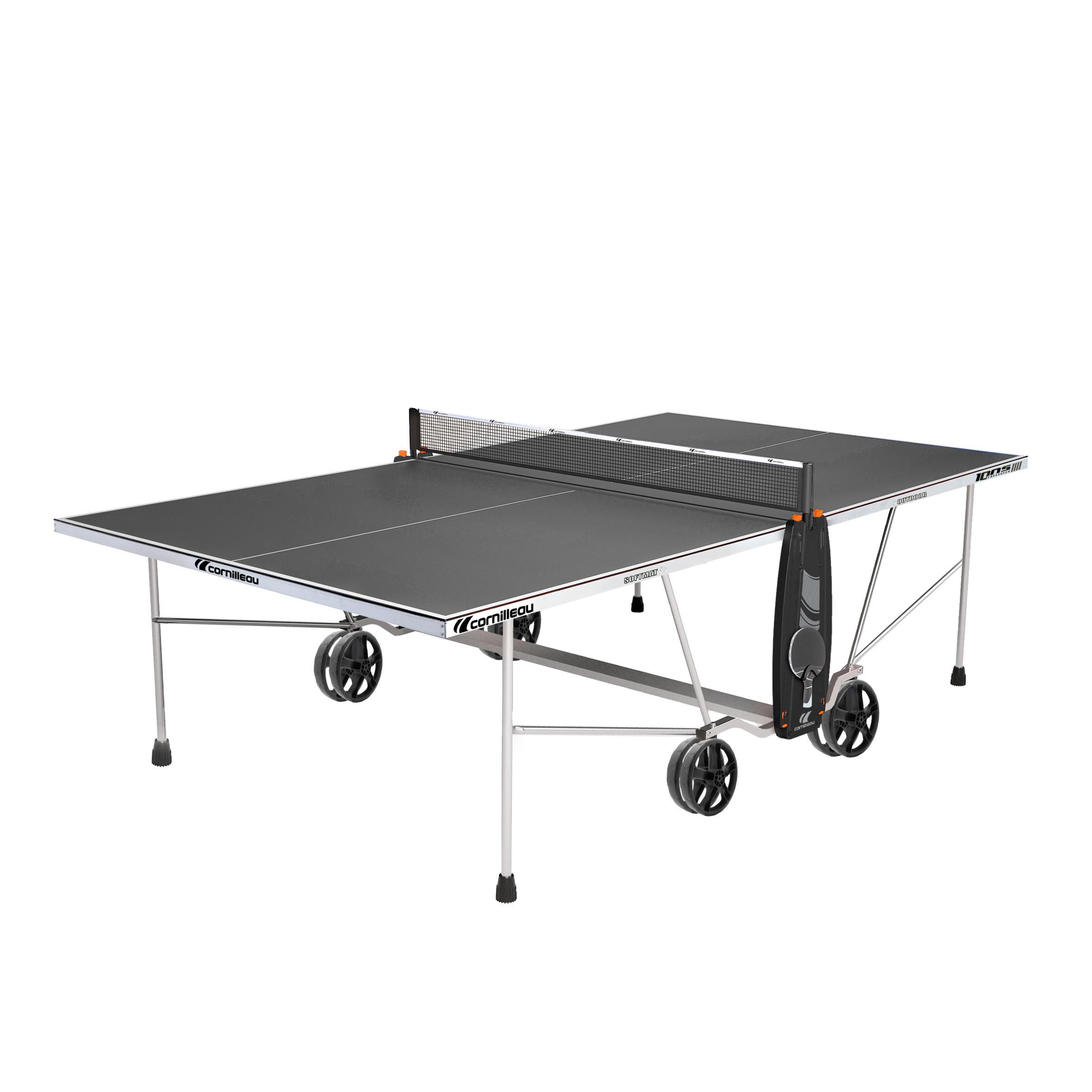 Cornilleau Tafeltennistafel / pingpongtafel outdoor 100S Crossover grijs kopen