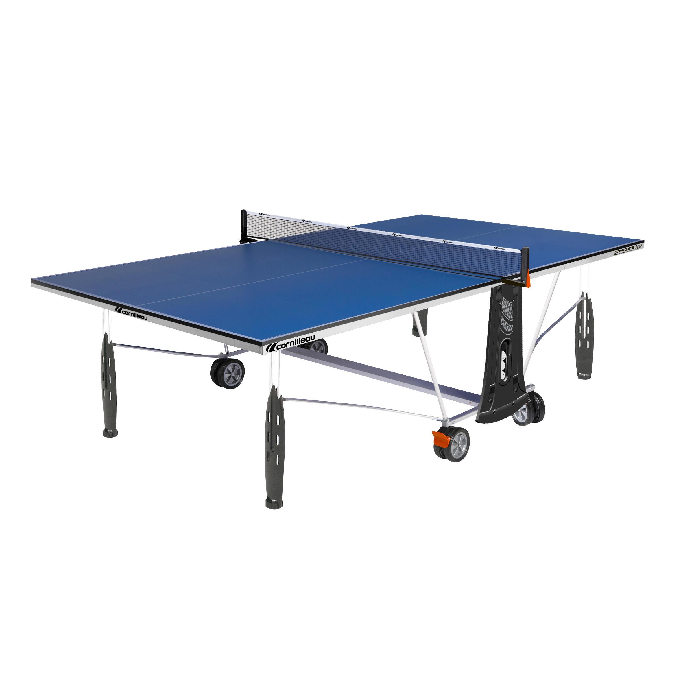 Cornilleau Tafeltennistafel / pingpongtafel 250 indoor blauw kopen