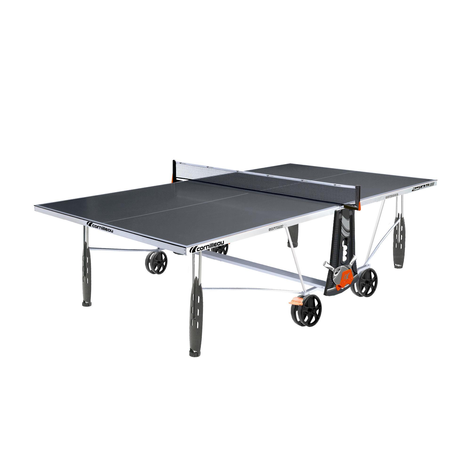 Cornilleau Tafeltennistafel / pingpongtafel outdoor 250S Crossover grijs kopen